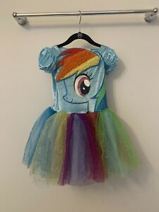 My Little Pony RAINBOW DASH Tutu Costume 4 5 6 6X EUC