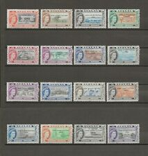 More details for bahamas 1964 sg 228/43 mnh cat £32