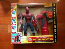 NEW NIP Toy Biz SPIDERMAN 2 THE ULTIMATE WATER SHOOTER with Pump N Shoot action
