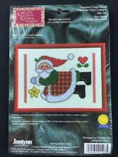 Janlynn Star Santa Counted Cross Stitch Kit with Frame 41-107