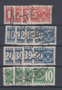 Österreich Porto Nr.  159-174, gest.