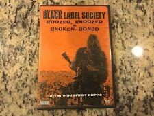 ZAKK WYLDE'S BLACK LABEL SOCIETY BOOZED, BROOZED & BROKEN-BONED VERY GOOD DVD!