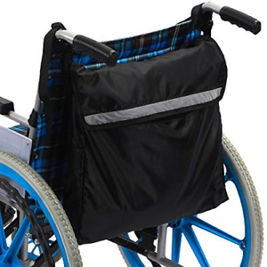 Wheelchair Bag Wheel Chair Storage Tote Accessory for Carrying Loose Items and -