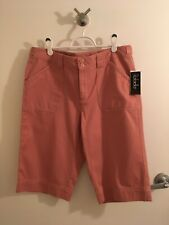 NWT Ladies Rafaella Shorts, 14, Bermuda, Golf, Walking MSRP $43