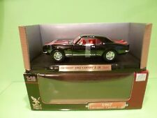 YATMING 92188 CHEVROLET CAMARO Z-28 1967 - BLACK 1:18 - EXCELLENT  IN BOX