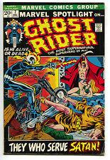 Marvel Spotlight 7 1972 VG 3rd Ghost Rider Johnny Blaze