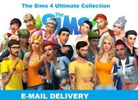 The Sims 4 Ultimate Collection| Digital Download Account|PC&MAC|