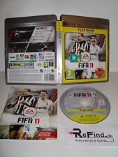 FIFA 2011 PLATINUM PS3 USATO ITA PLAYSTATION 3 PS3 IN ITALIANO