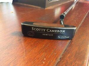 Scotty Cameron Np Putter tel3 stamp Rare japan first shipping