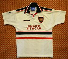 1997 - 1998 Manchester United, Away Shirt by Umbro, Boys Large, 12/13 years