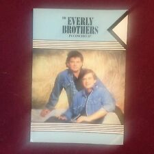 EVERLY BROTHERS 30 Yr Old Programme