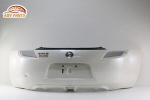 ⭐ 2009 - 2017 NISSAN 370Z COUPE REAR BUMPER COVER WHITE IN COLOR OEM