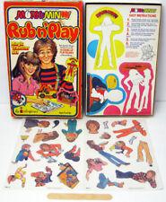 MORK & MINDY TV SHOW ROBIN WILLIAMS PAM DAUBER 1979 COLORFORMS RUB N PLAY UNUSED