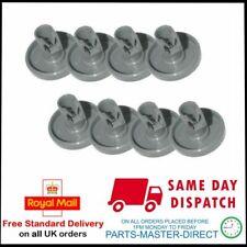 New listing Genuine Zanussi Dishwasher Lower Basket Wheel 50286965004 x 8 Wheels Per Pack
