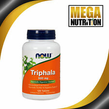 NOW Foods Triphala 500mg 120 Tablets | Ayurvedic Digestive Cleanser Support