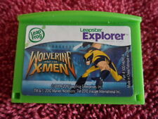 LEAP FROG LEAPSTER LEAP PAD EXPLORER GAME WOLVERINE & THE X-MEN AGES 5-9 YR