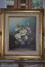 Oil Small (up to 12in.) Floral Art Paintings