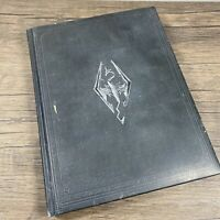 The Art Of Skyrim Collector's Edition Leather Style Hardcover Book Elder Scrolls