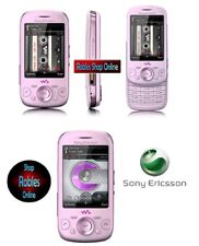 Sony Ericsson Zylo w20i SWING ROSA (senza SIM-lock) 3g 4 banda radio 3mp Walkman Top