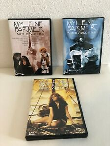 Mylene Farmer Music Video 1,2,3,4, L'intégrale des clips de 1984 à 2006 en 3 DVD