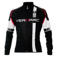 Vermarc Squadra VS Long Sleeve Cycling Jersey Black Small RRP £53.99