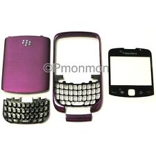 purple Blackberry Curve 3G 9300 Housing/Lens/Back Cover