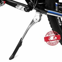 """BV Bicycle Center Kickstand Adjustable Alloy Bike MTB Stand 24""""-29"""" NEW KA76SL"""