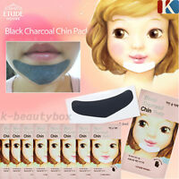 Black Charcoal Chin Patches ETUDE HOUSE Blackhead Masks Patches / Korea Cosmetic