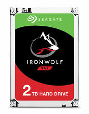2TB Seagate IronWolf Serial ATA III 6Gbps 64MB Cache 5900RPM 3.5-inch Hard Drive