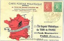 TOUR DE FRANCE 1948 - SET OF 21 POSTCARDS CYCLING