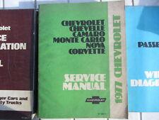1977 CHEVROLET  MANUAL CHEVROLET CHEVELLE MONTE CARLO CORVETTE  NOVA CAMARO
