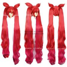League of Legends jinx Red cosplay costume wig