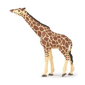 Papo 50236 Giraffe With Raised Head 6 5/16in Wild Animals