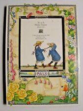 """Rare 1995 Mary Engelbreit """"Pals"""" Picture Frame (Euc)"""