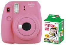 Fujifilm Instax Mini 9 Sofortbildkamera Flamingo Pink inkl. 20 Aufnahmen