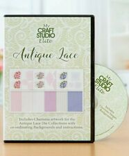 NEW! My Craft Studio Elite ~ ANTIQUE LACE (CD-ROM)