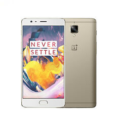 """Oneplus one plus 3T Quad Core Android 5.5"""" 6GB+64GB 16MP Mobile Smartphone Gold"""