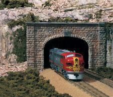 Woodland Scenics [WOO] N Double Tunnel Portal Cut Stone C1157 WOOC1157