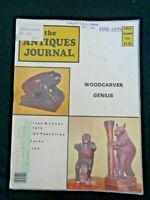 Antiques Journal 1978 E McKillop Wood Carvings Hamilton & Jones Pottery Netsuke