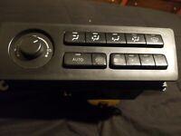 Honda CRV dash climate control unit heat AC OEM 97-01 CR-V bezel trim w//brackets
