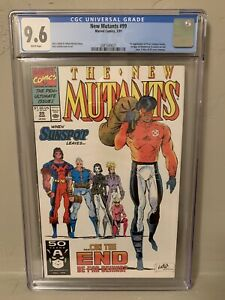 New Mutants #99 CGC 9.6 NM+ 1st Feral and 1st Shatterstar Cameo