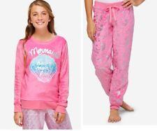 Justice Pink Mermaids Have More Fun 2-piece Pajamas Set size 6/7  NWT