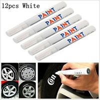 12x Reifenmarker Reifenmarkierungsstift KFZ Reifen Stift Reifenmarkierstift Weiß