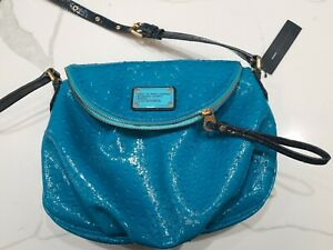 Marc By Marc Jacobs Painted Teal Multi Med Textured Crossbody Purse Bag - NWT