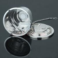 Practical Tea Ball Mesh Strainer Infuser Filter 304 Stainless Steel Herbal