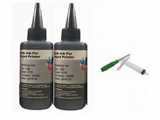 200ml Black Refill Ink for Epson HP Canon Dell Lexmark Kodak Printer cartridges