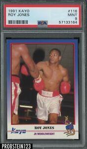 1991 Kayo Boxing #116 Roy Jones Jr. RC Rookie PSA 9 MINT