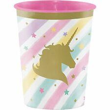 Unicorn Sparkle 12-Count Plastic Keepsake Party Cups