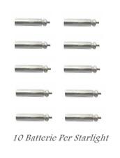 kit 10 batterie per starlight a led da pesca batteria litio br 311 3v