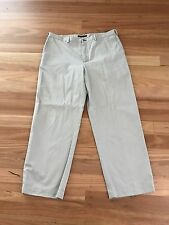 Men's Beige Cotton Casual Chino Pants By Tommy Hilfiger - Size 40/ 34 - Cheap